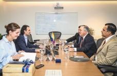 Alcalde electo de Panamá visitó el corredor verde de Medellín