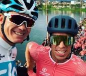 El Giro de Rigo un encuentro recreativo con los ciclistas de ayer y hoy