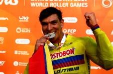 El paisa Diego Posada es campeón mundial del Downhill en Barcelona