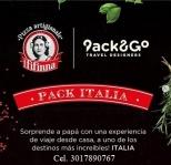 Pack&go: Una experiencia que recuerden por siempre. Un viaje de la mano de @packngo y @nonnafifinna al país de la historia, el arte, la pizza, la pasta y el vino. Un viaje sin maletas. Cel. 3017890767