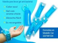 Manillas para llevar Gel Anti-bacterial: Info. 3207987334 Anderson Cogollo Castañeda, Medellín