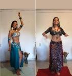 Ex bailarina de danza árabe ofrece sus trajes típicos