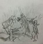 Son insectos de costumbres nocturnas. ¿Oyen...? Es la sonata de un lunes de verano. Encuentra la nota en la siguiente dirección: https://www.areamedellin.com/news/general-news/18763-los-dibujos-de-juanita-saldarriaga-sorprenden-la-cotidianidad