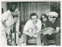 Con Vilma Espín y Raúl Castro