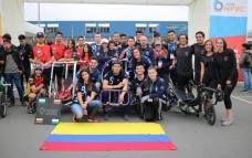 Vehículo de tracción humana de la U. Eafit gana premio en Perú