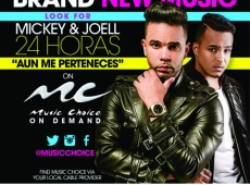 "Estreno nacional de ""Aún Me Perteneces""  de Mickey & Joell 24 Horas por Music Choice"